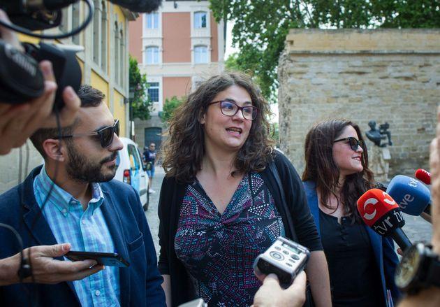 La diputada de Podemos, Raquel
