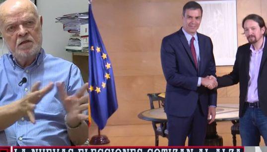 Este juez necesita una sencilla comparación y dos preguntas para resumir lo que sucede entre el PSOE y