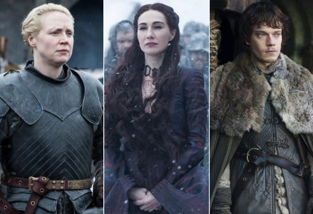 Gwendoline, Carice and Alfie are all up for