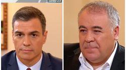 Ferreras interrumpe la entrevista con Sánchez para enseñarle esta imagen: