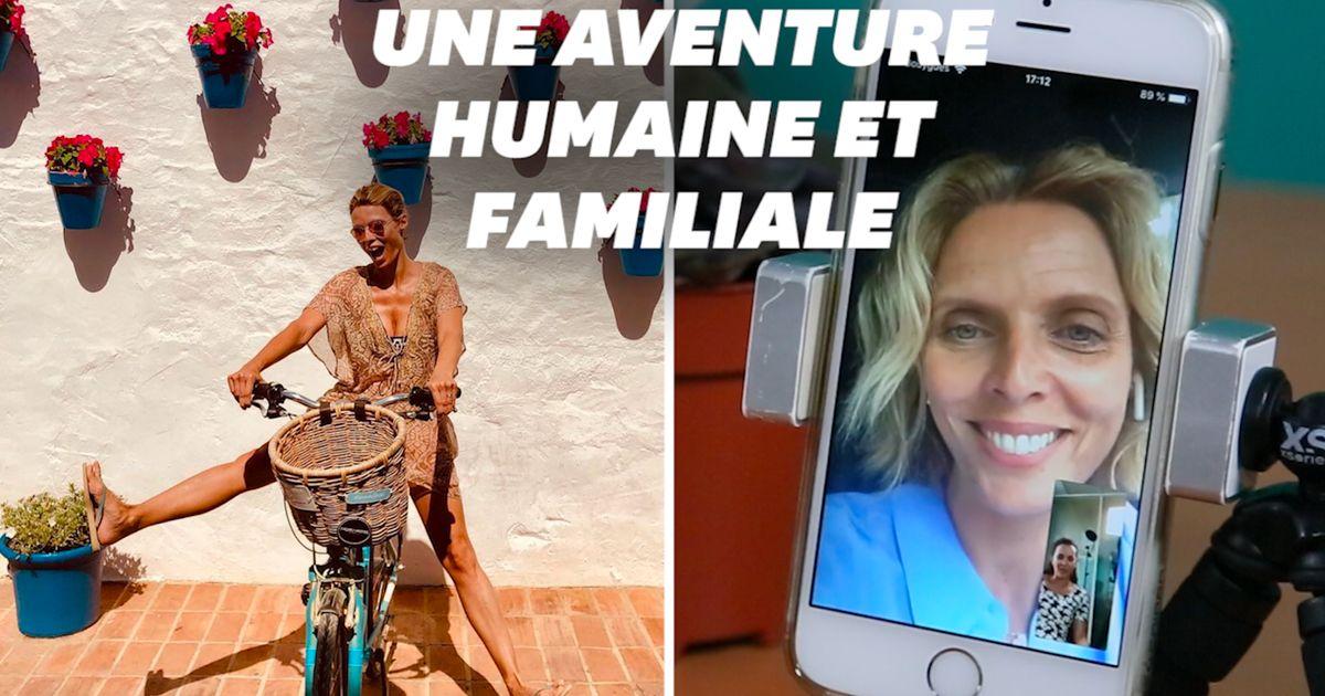Sylvie Tellier sur une étape du Tour de France, voici comment elle s'est préparée