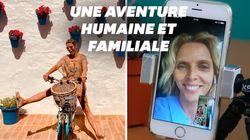 Sylvie Tellier sur une étape du Tour de France, voici comment elle s'est