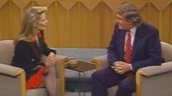 "Donald Trump appears on NBC's ""A Closer Look"" and discuss him kissing host Faith Daniels without her consent in 1992."