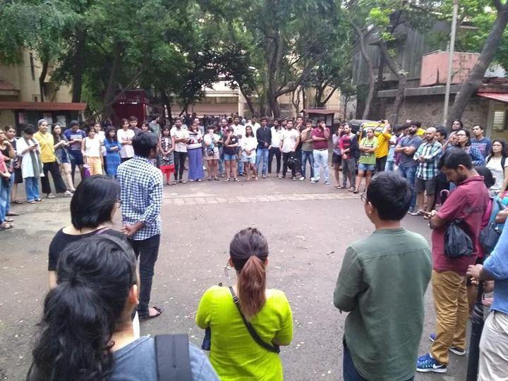 TISS-Mumbai students discuss the closure of Hyderabad campus 'sine die'.