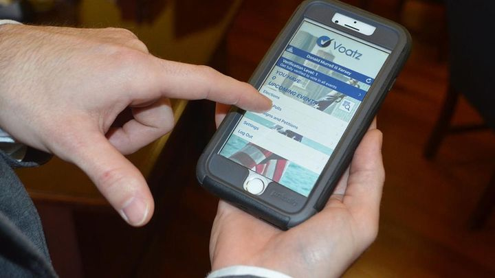 Overseas servicemembers from West Virginia and Denver voted using the smartphone app Voatz in the past year. Caucusgoers in I