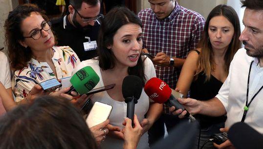 """Irene Montero: """"Sánchez debe"""