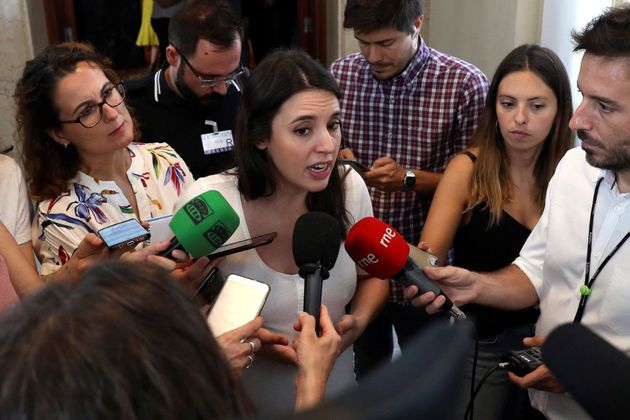 Irene Montero, sobre el veto a Iglesias: