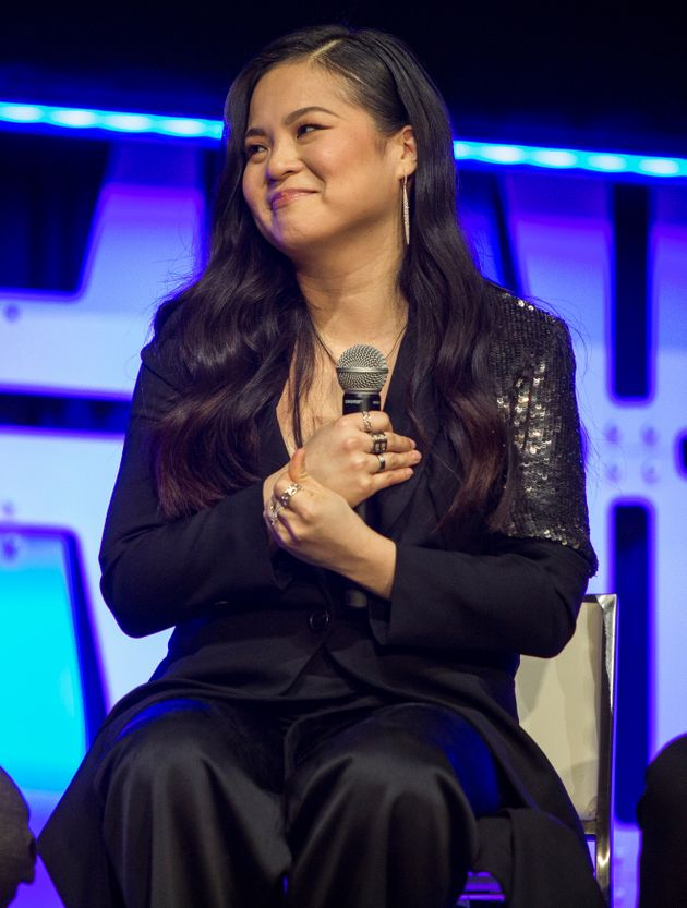 Kelly Marie Tran at the Star Wars Celebration event earlier this