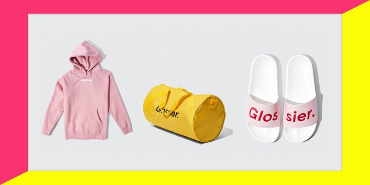 Glossier has a new collection, called GlossiWEAR.