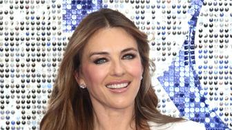 LONDON, UNITED KINGDOM - 2019/05/20: Elizabeth Hurley attends the UK Premiere of Rocketman at the Odeon Luxe, Leicester Square. (Photo by Keith Mayhew/SOPA Images/LightRocket via Getty Images)
