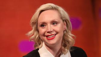 Gwendoline Christie during the filming for the Graham Norton Show at BBC Studioworks 6 Television Centre, Wood Lane, London, to be aired on BBC One on Friday evening. (Photo by Isabel Infantes/PA Images via Getty Images)