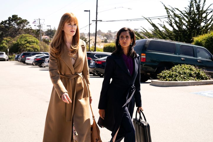 Poorna Jagannathan and Nicole Kidman in a still from Big Little Lies/HBO