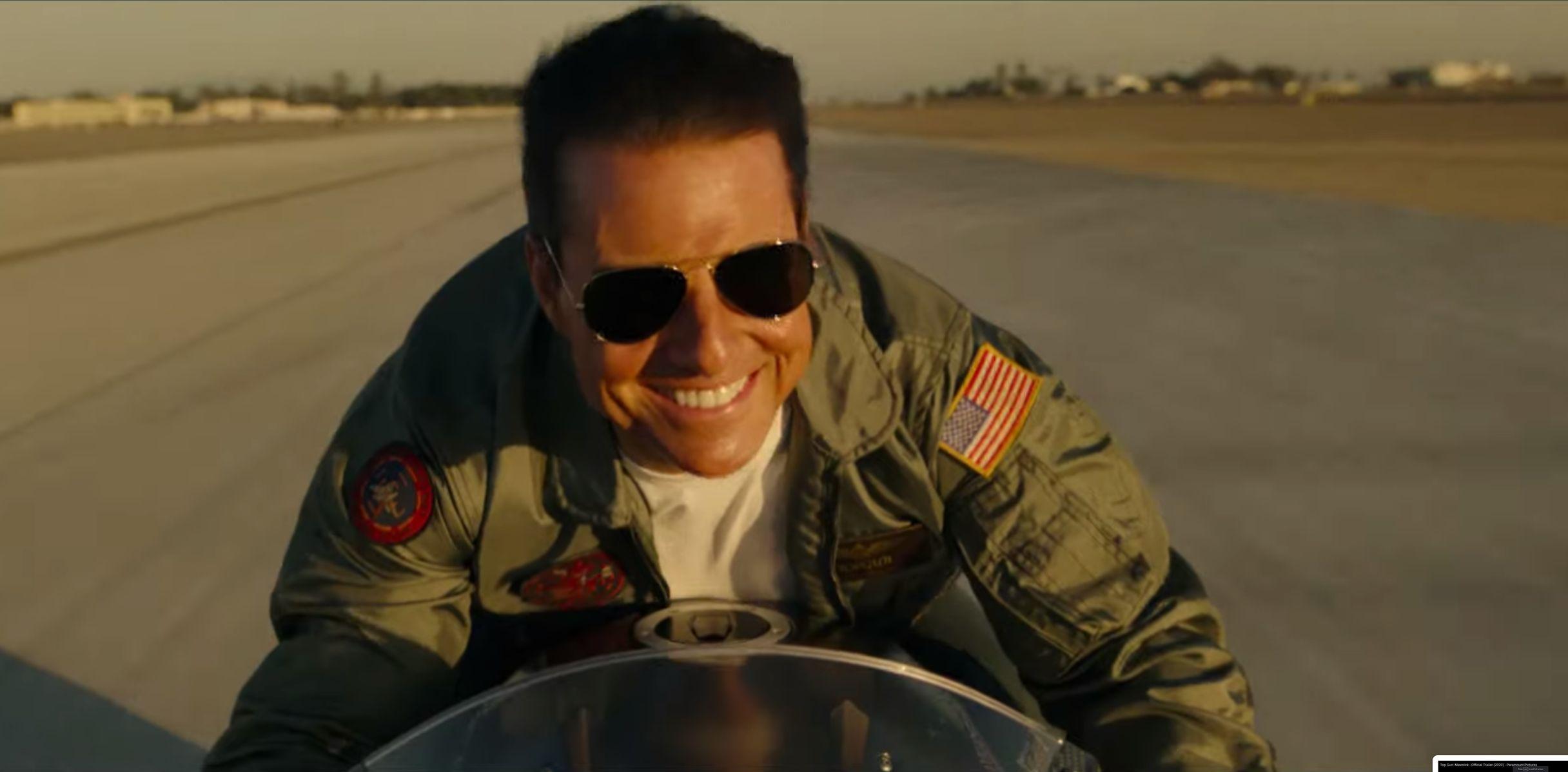 Tom Cruise Returns To The Danger Zone In First 'Top Gun: Maverick' Trailer