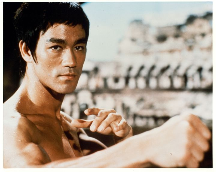 "Bruce Lee in 1973's ""Enter The Dragon."""