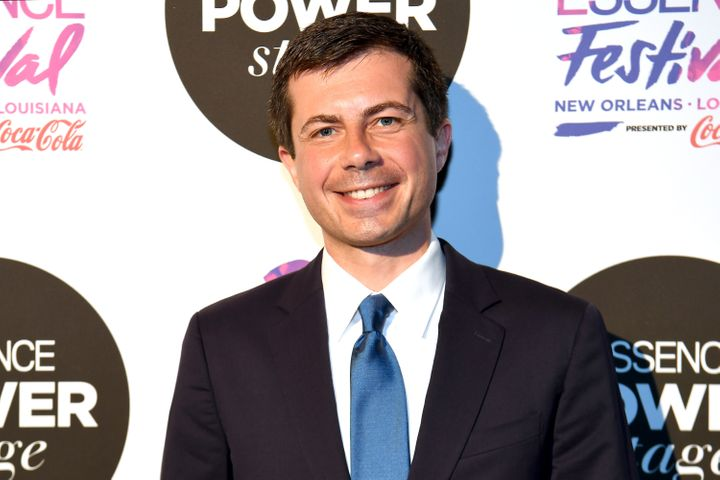Mayor Pete Buttigieg attends 2019 ESSENCE Festival Presented By Coca-Cola at Ernest N. Morial Convention Center on July 07, 2