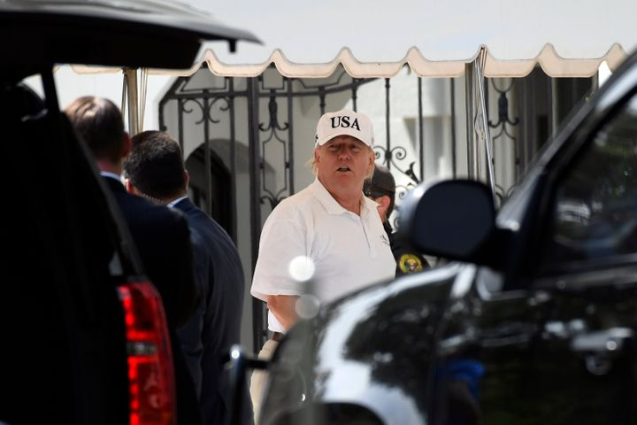 Trump Puts More GOP Money In His Own Pocket During Another Million-Dollar Golf Trip