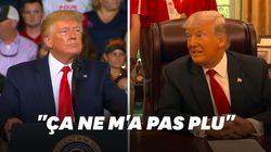 Les slogans racistes scandés pendant son meeting
