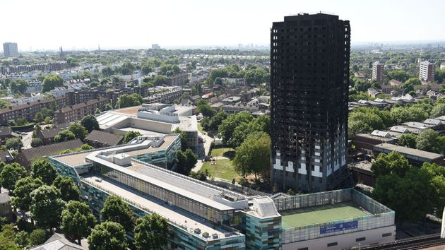 The spread of the fire at Grenfell has been linked to the use of ACM in its