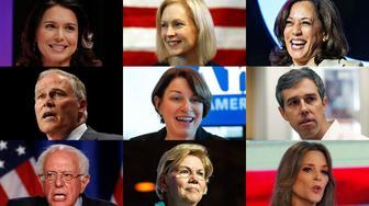 Second debate lineup