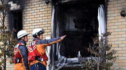 京アニ放火、出火から20時間ぶりに鎮火。現場検証始まる