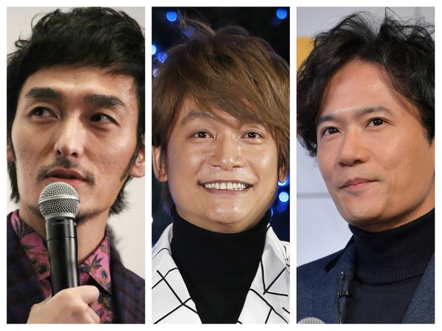 「新しい地図」の3人(左から草なぎ剛さん、香取慎吾さん、稲垣吾郎さん)