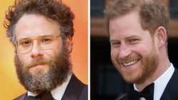 Seth Rogen Says It Was 'Weird' Watching 'Lion King' With Harry And