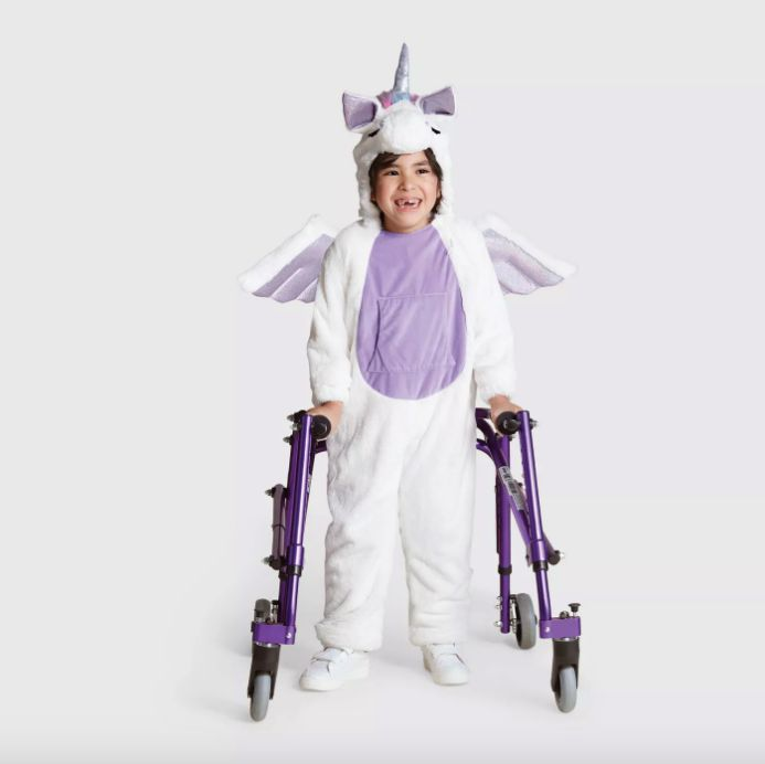 The sensory-friendly unicorn costume costs $30.