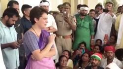 Priyanka Gandhi Stopped By Police On Way To Sonbhadra Where 10 Died In