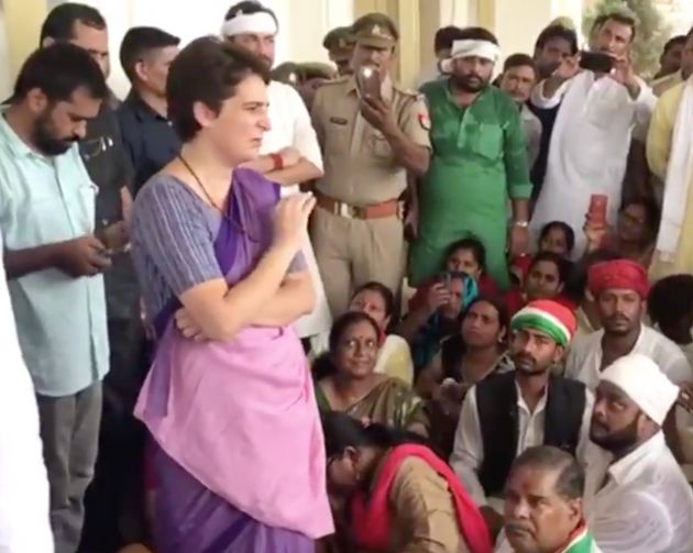 Priyanka Gandhi at Chunar Fort in Uttar