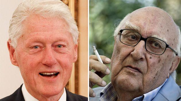 """Bill Clinton ricorda il maestro Camilleri: """"Ho imparato"""