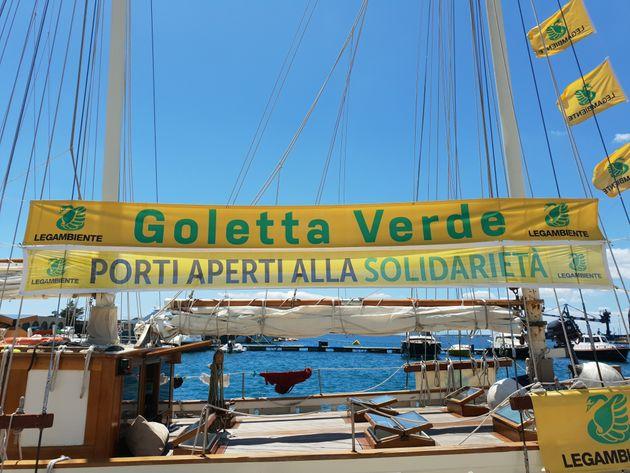 Goletta verde a Pozzallo con le Ong che salvano vite in mare