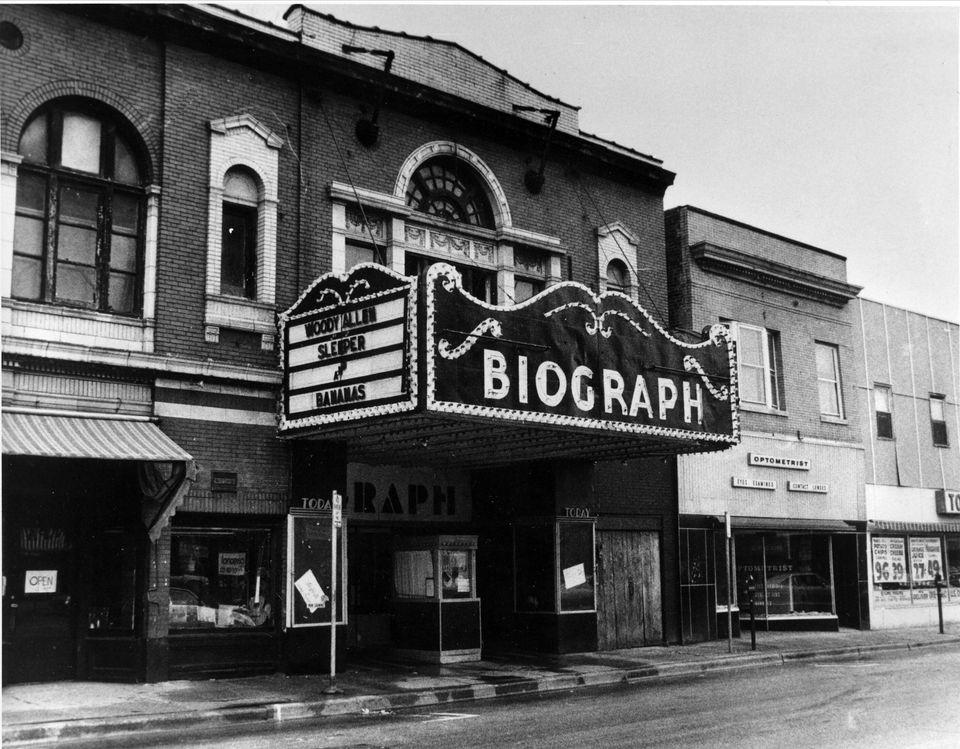 Ο κινηματογράφος Biograph,...