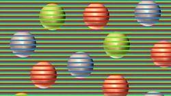 Di che colore sono le sfere? L'illusione ottica dimostra che niente è come