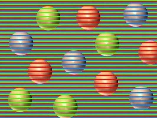 Di che colore sono le sfere? L