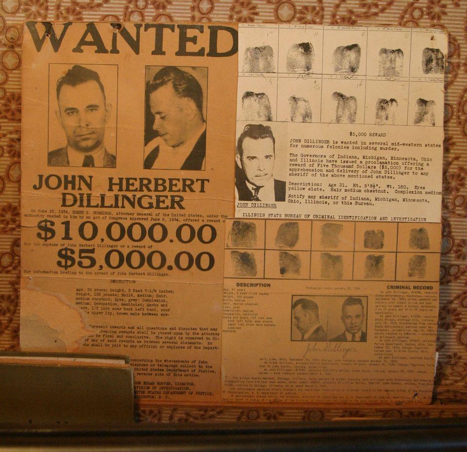 Τζον Ντίλινγκερ: 85 χρόνια από τον θάνατο του πιο διάσημου ληστή
