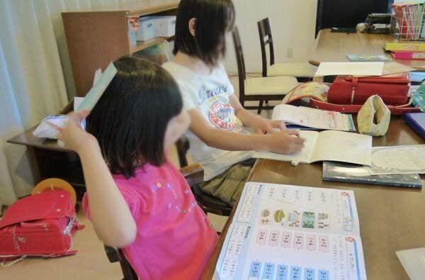 3keysで学習支援を受ける子どもたち