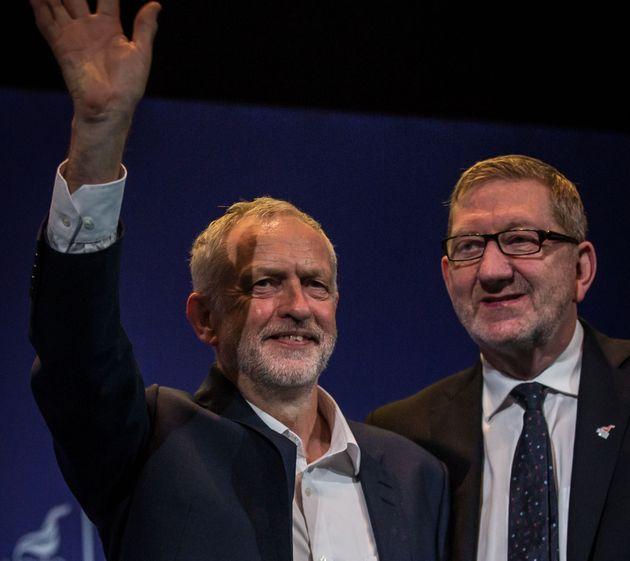 Jeremy Corbyn and Len