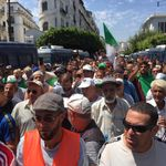 22e vendredi: début de la manifestation à