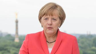 July 17th 2019 - German Chancellor Angela Merkel celebrates her 65th birthday. She was born Angela Dorothea Merkel in Hamburg, West Germany on July 17th 1954. - File Photo by: zz/KGC-178/STAR MAX/IPx 2015 6/24/15 German Chancellor Angela Merkel at The Chancellery during the Royal State Visit of Her Majesty Queen Elizabeth II to Germany. (Berlin, Germany)