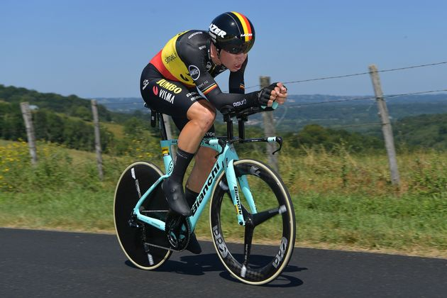 Tour de France: Wout Van Aert chute au contre-la-montre de