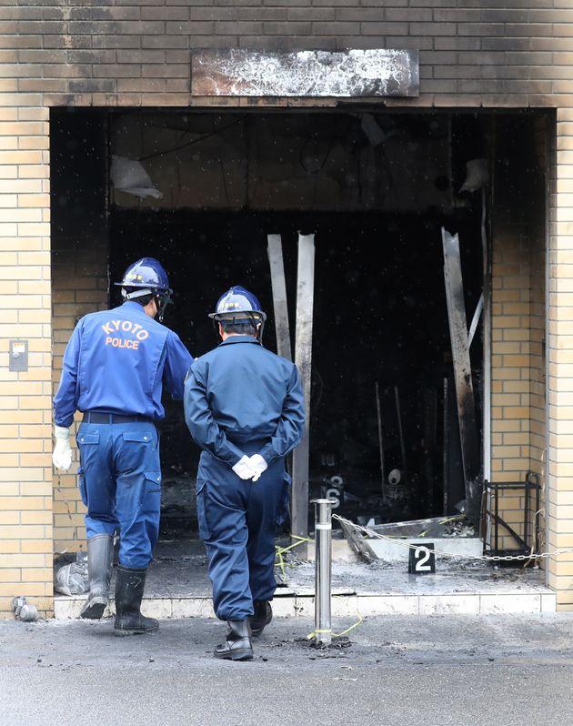 교토 애니메이션 회사 화재 피해자 중 한국인이 뒤늦게