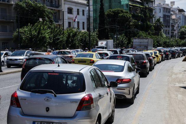Κυκλοφοριακό κομφούζιο προκάλεσε ο σεισμός στην