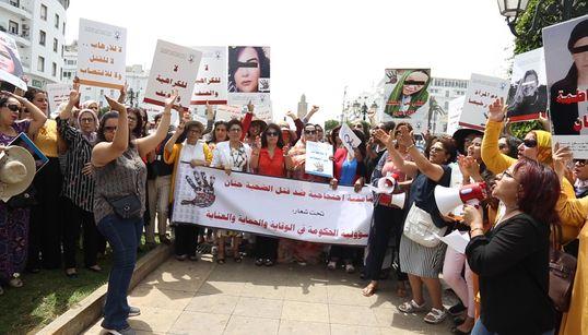 Colère et frustration au sit-in de soutien à Hanane, violée et tuée à