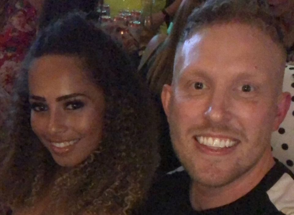 Love Island's Amber Gill with best friend Martin
