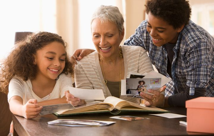 Creating a scrapbook or memory box can help the child feel connected to a parent who has died. It allows them to revisit those memories whenever they wish.