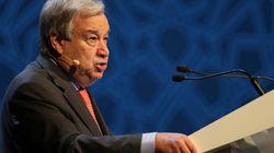 京アニ放火、国連事務総長が哀悼の意