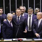Visitas frequentes de Bolsonaro ao Congresso são insuficientes para melhorar