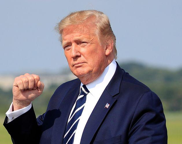 Donald Trump dans le New Jersey le 19 juillet