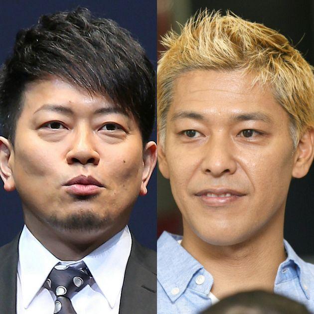 宮迫博之さん(左)と田村亮さん