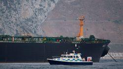 Un tanker battant pavillon britannique saisi ancré à un port